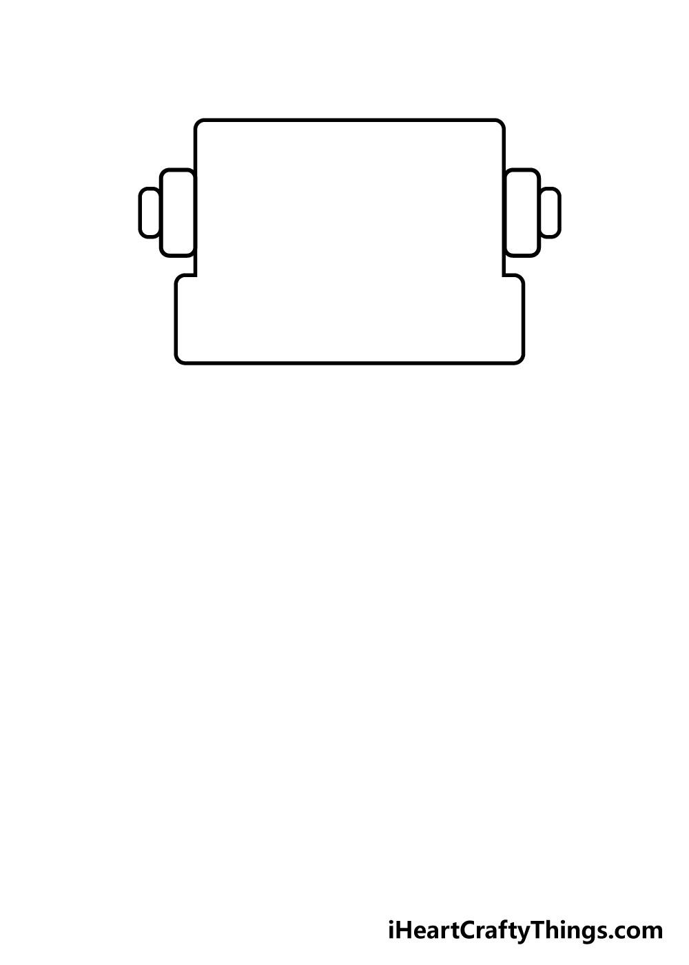 robot drawing step 1