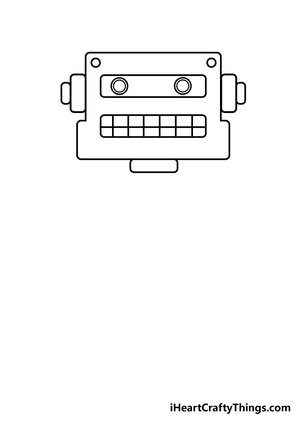 robot drawing step 2