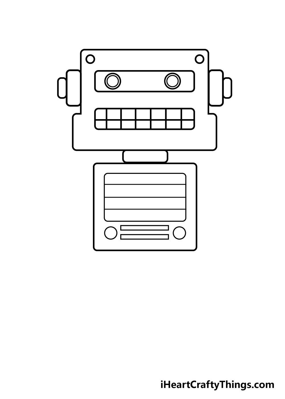 robot drawing step 3