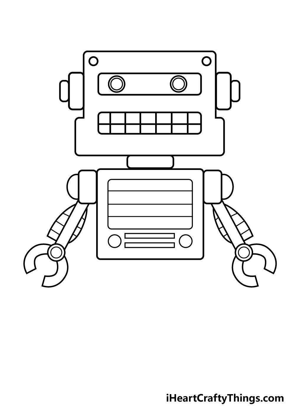 robot drawing step 5