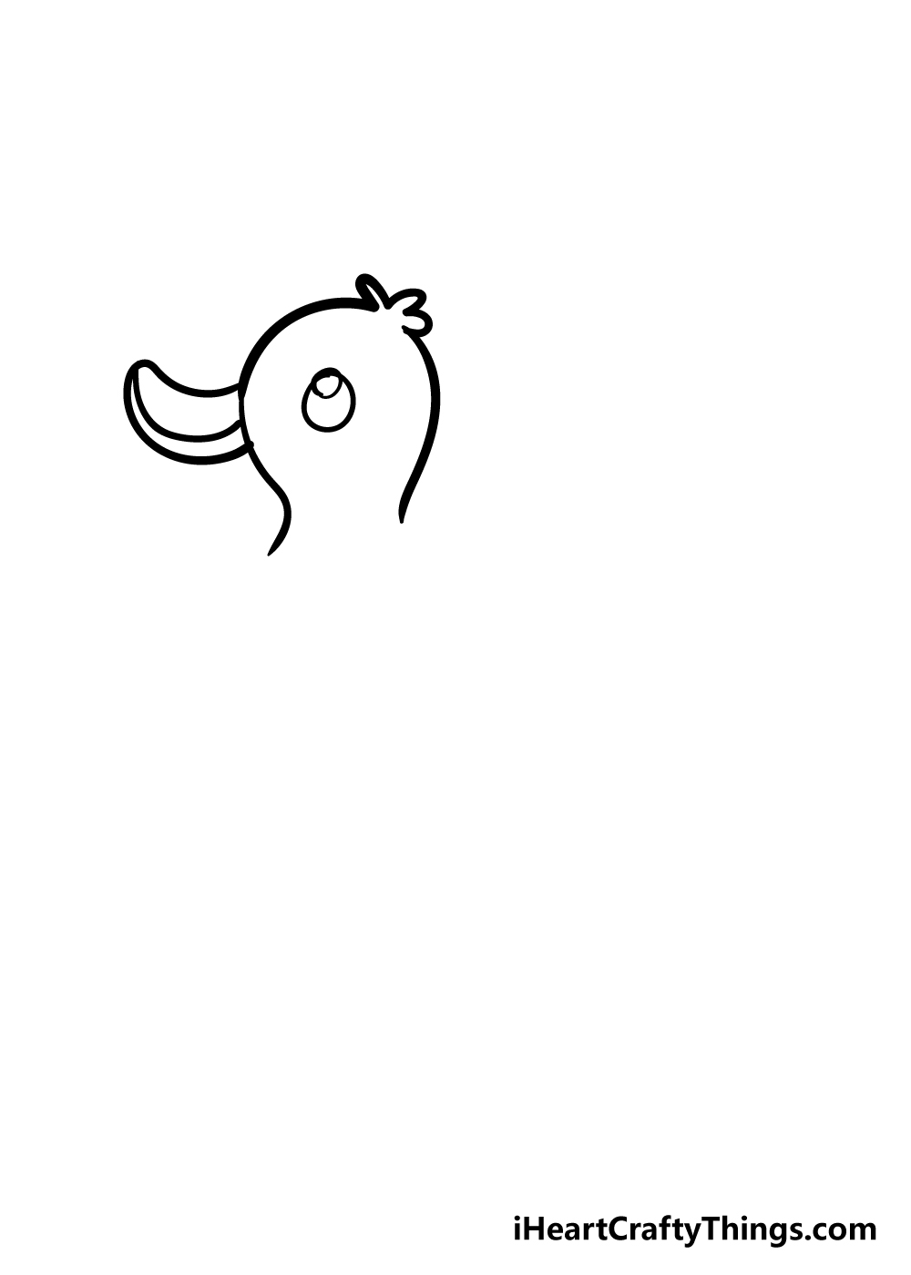 duck drawing step 3