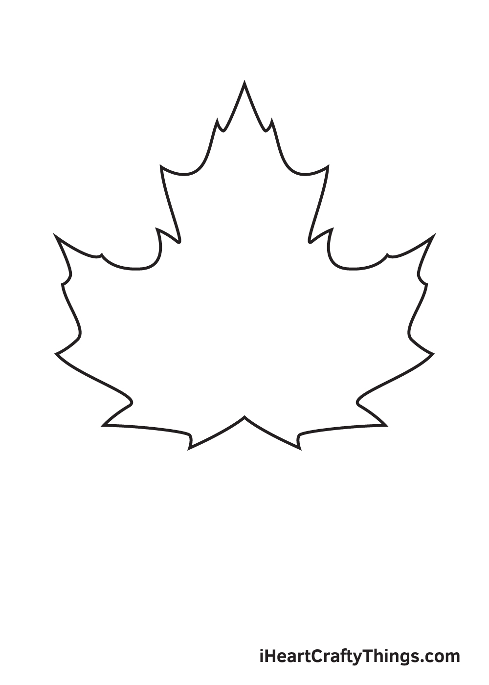 fall leaves drawing step 6