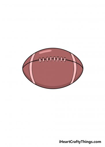 how to draw football image