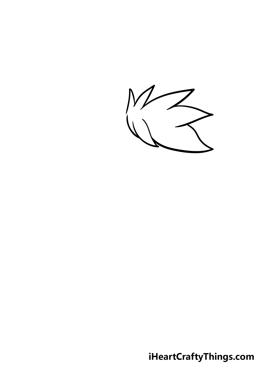 furry drawing step 1