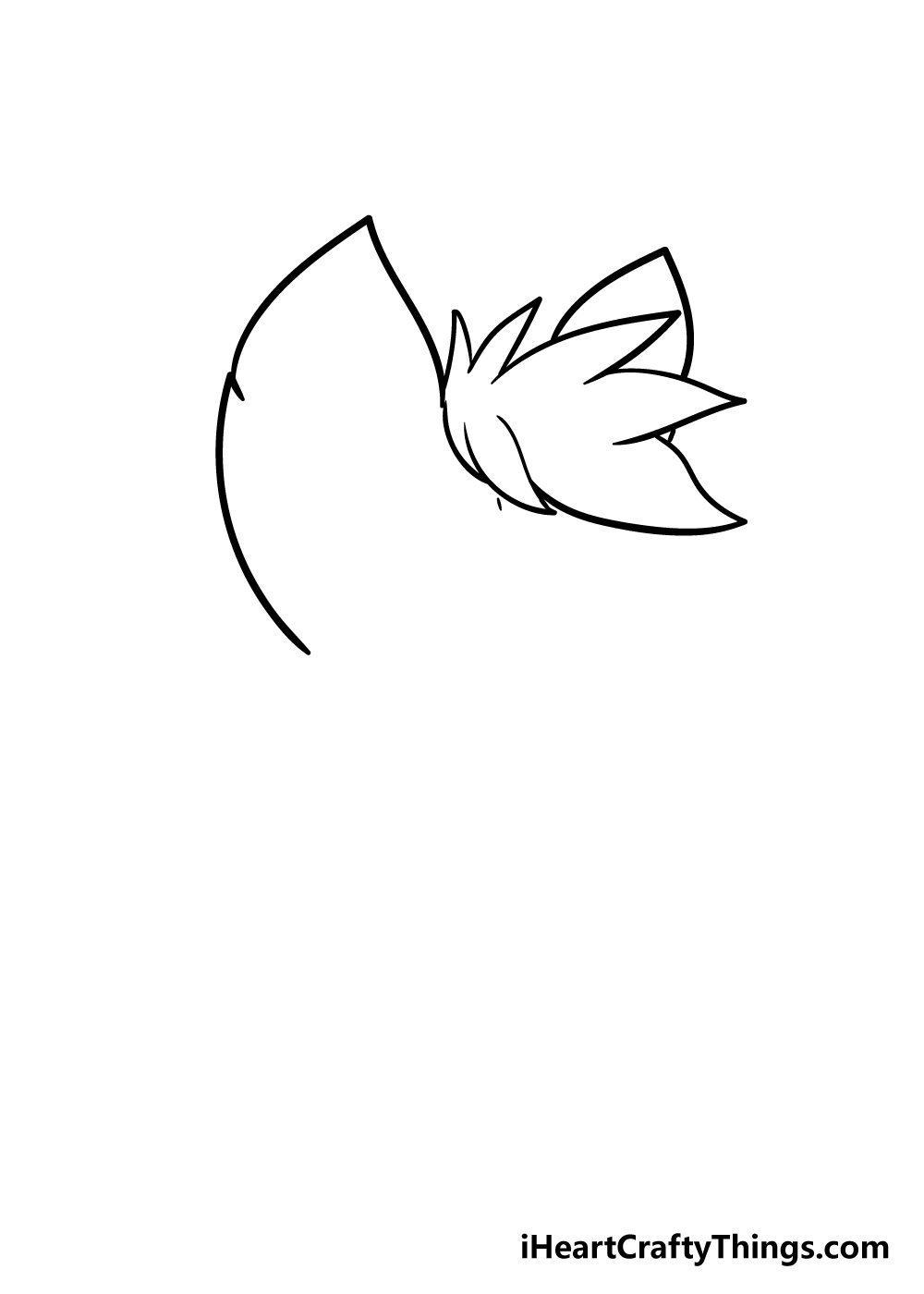 furry drawing step 2
