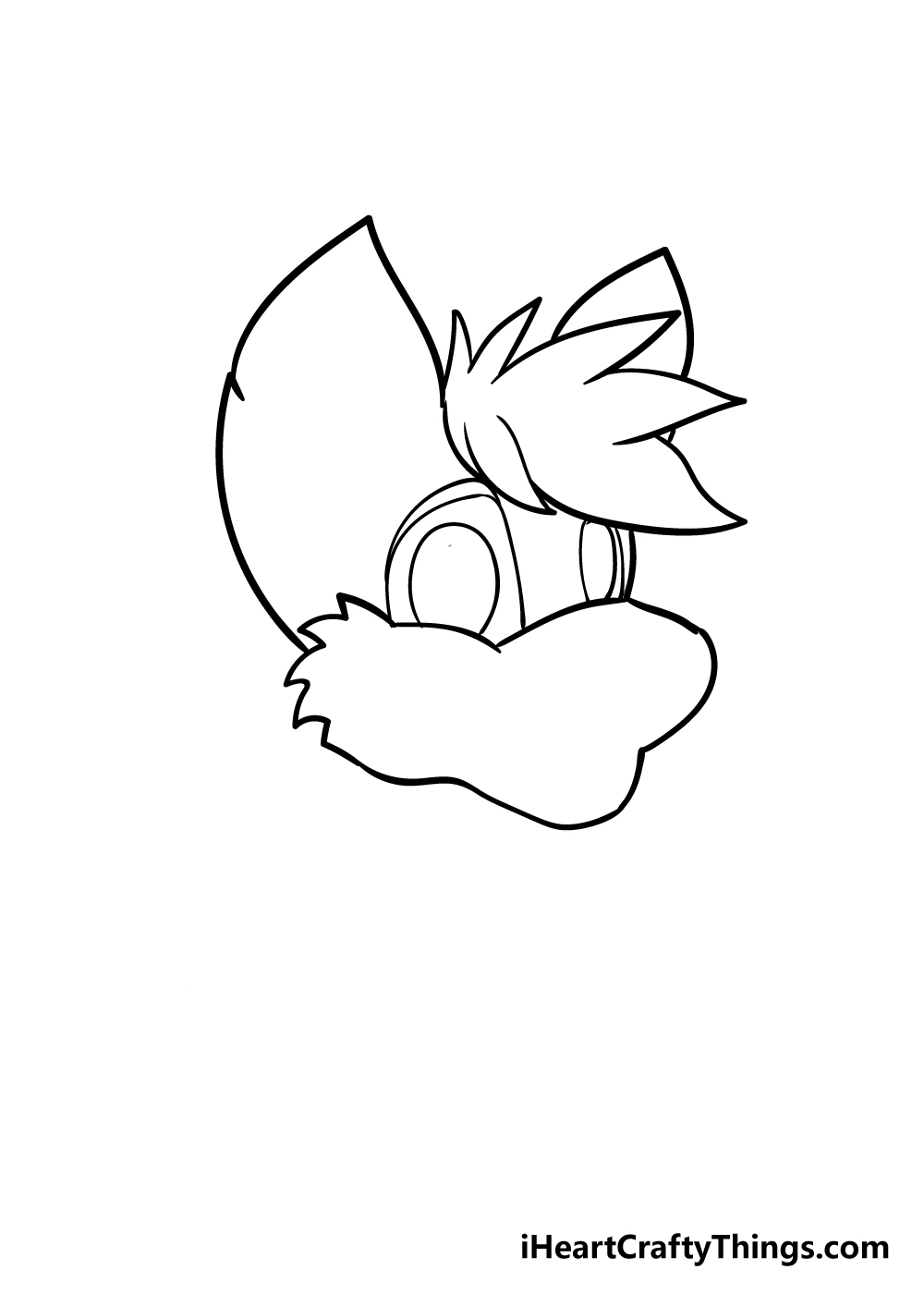 furry drawing step 3