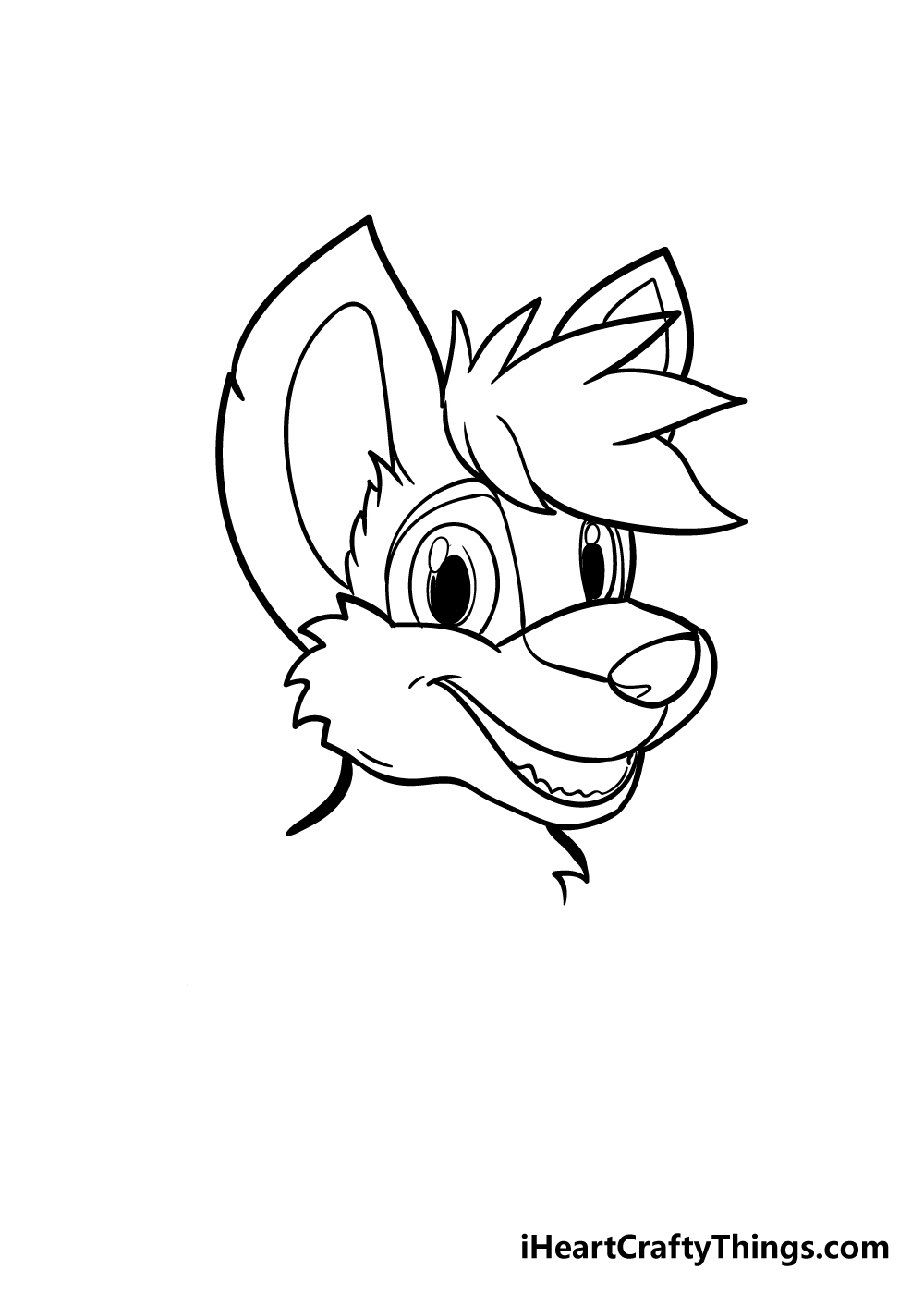 furry drawing step 5