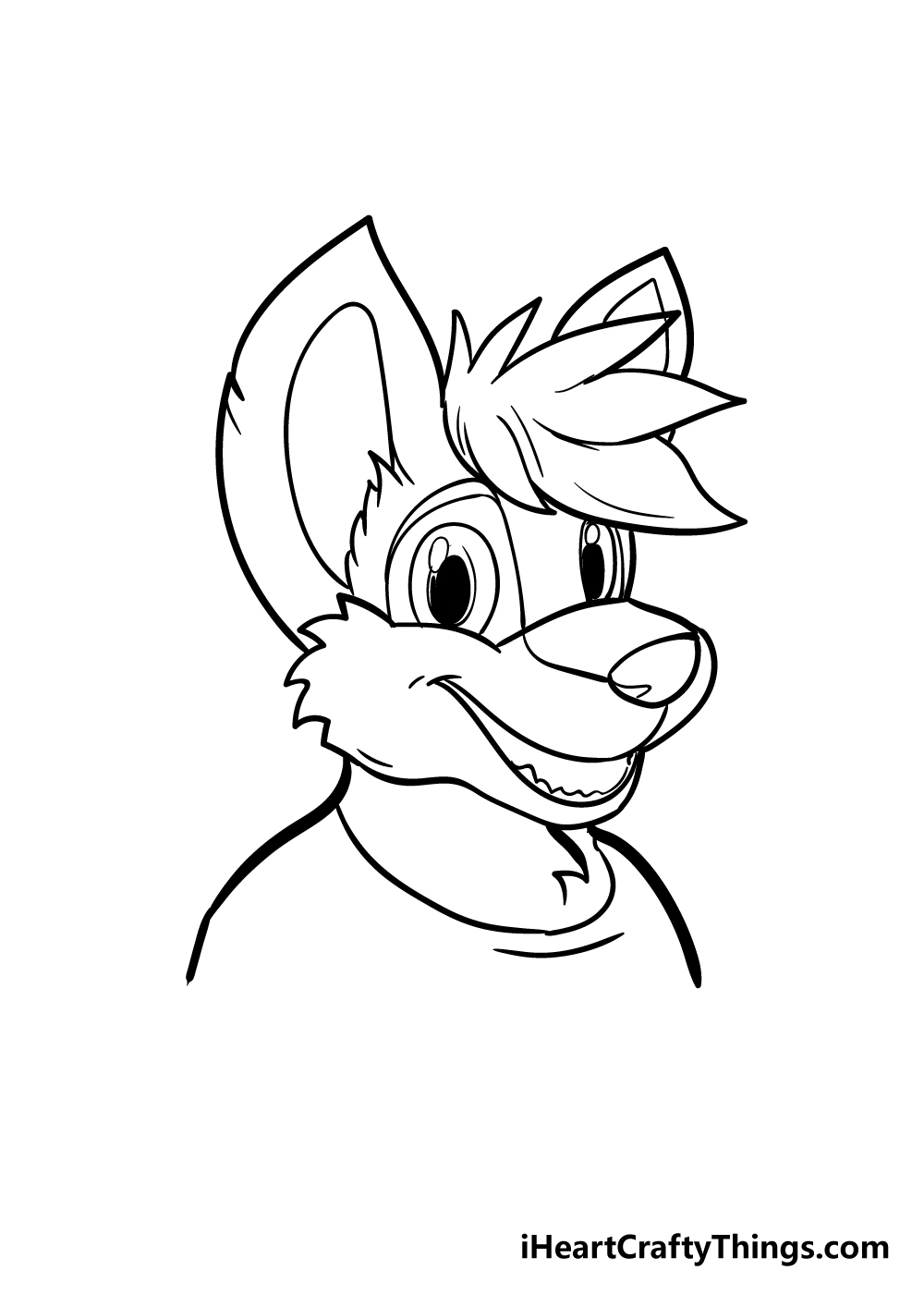 furry drawing step 6