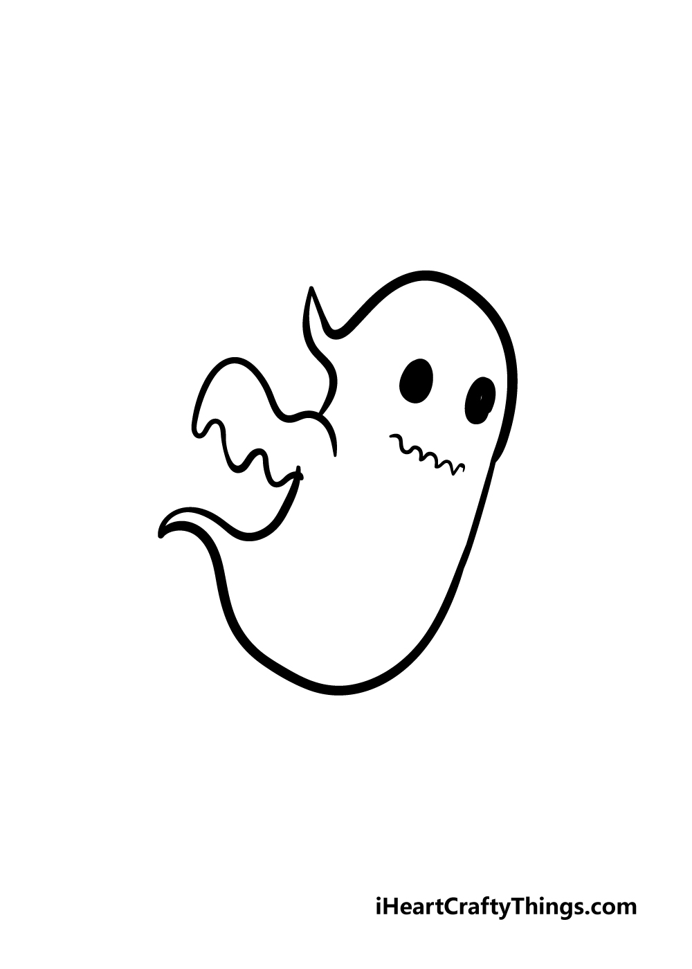ghost drawing step 3