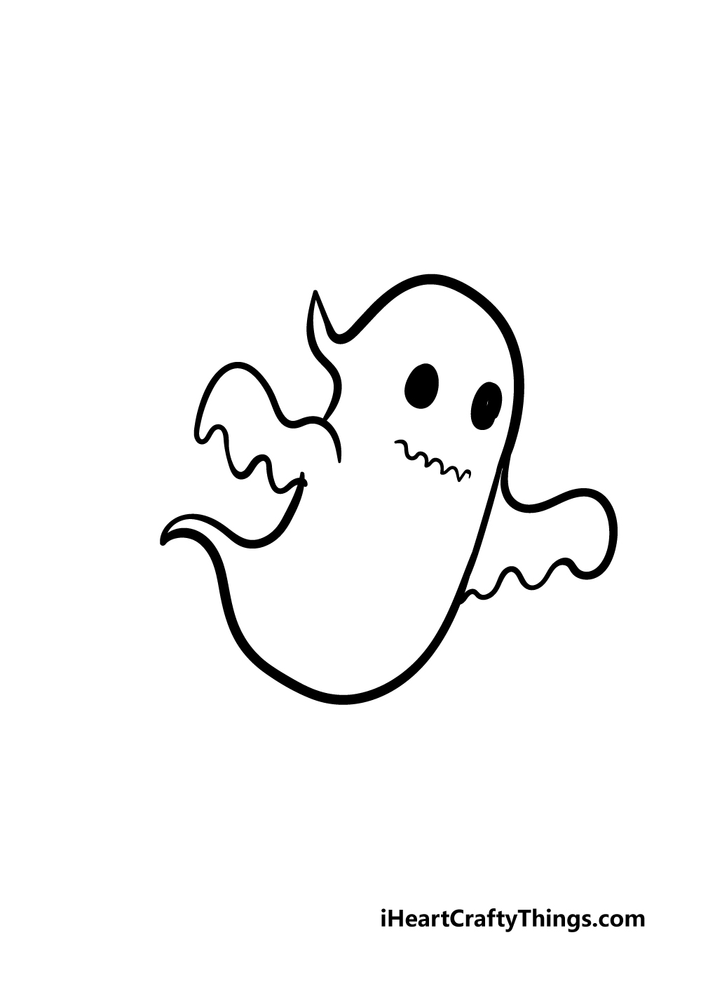 ghost drawing step 4
