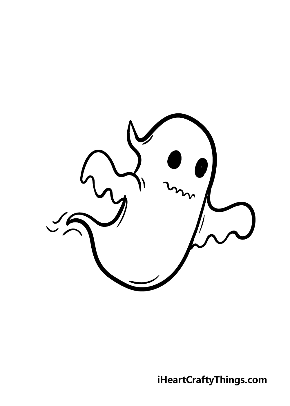 ghost drawing step 5