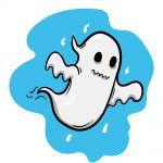 how to draw ghost image