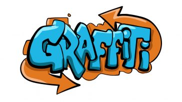 how to draw graffiti image
