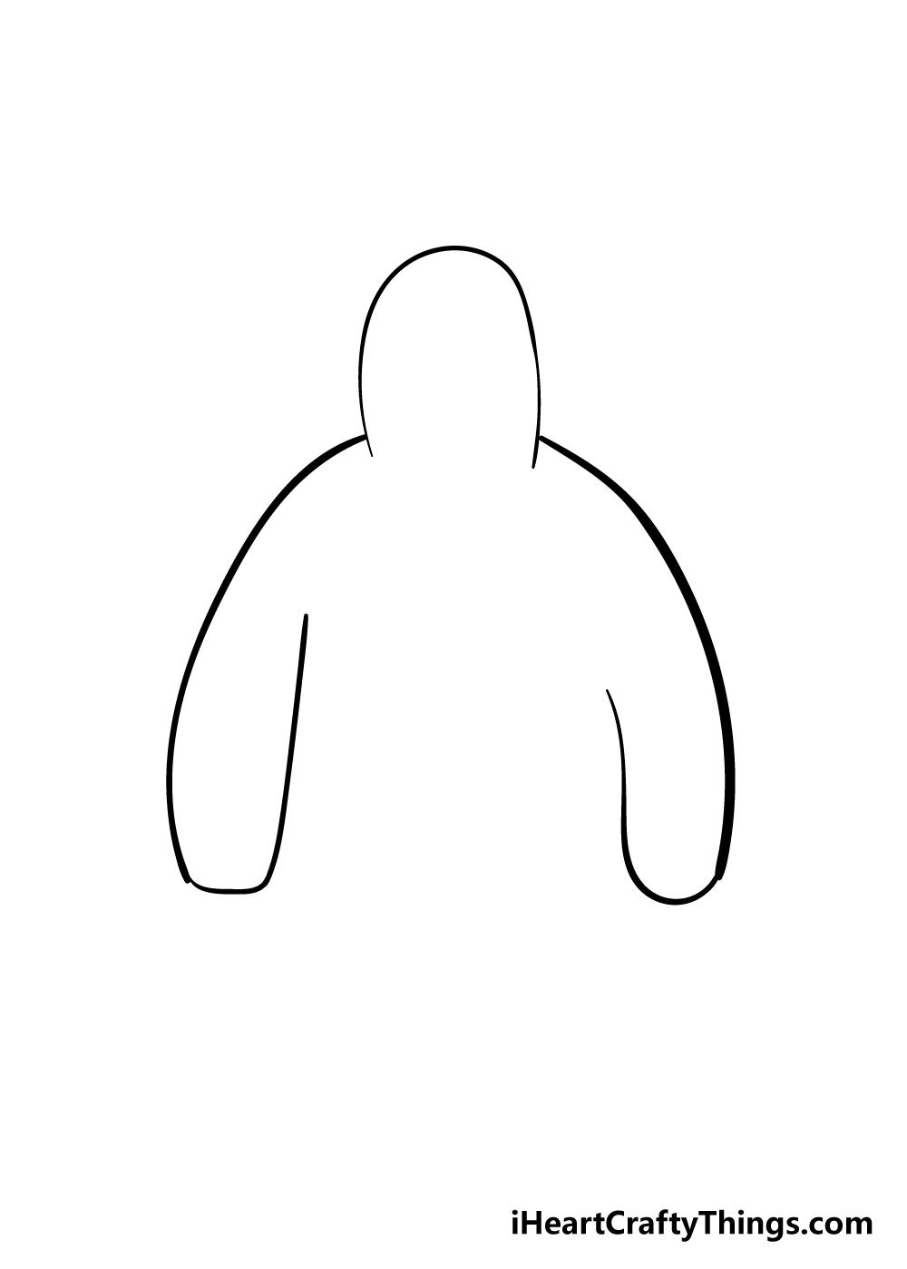 drawing hoodie step 2