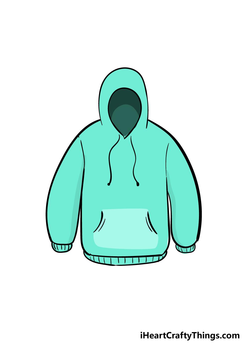 drawing hoodie step 6