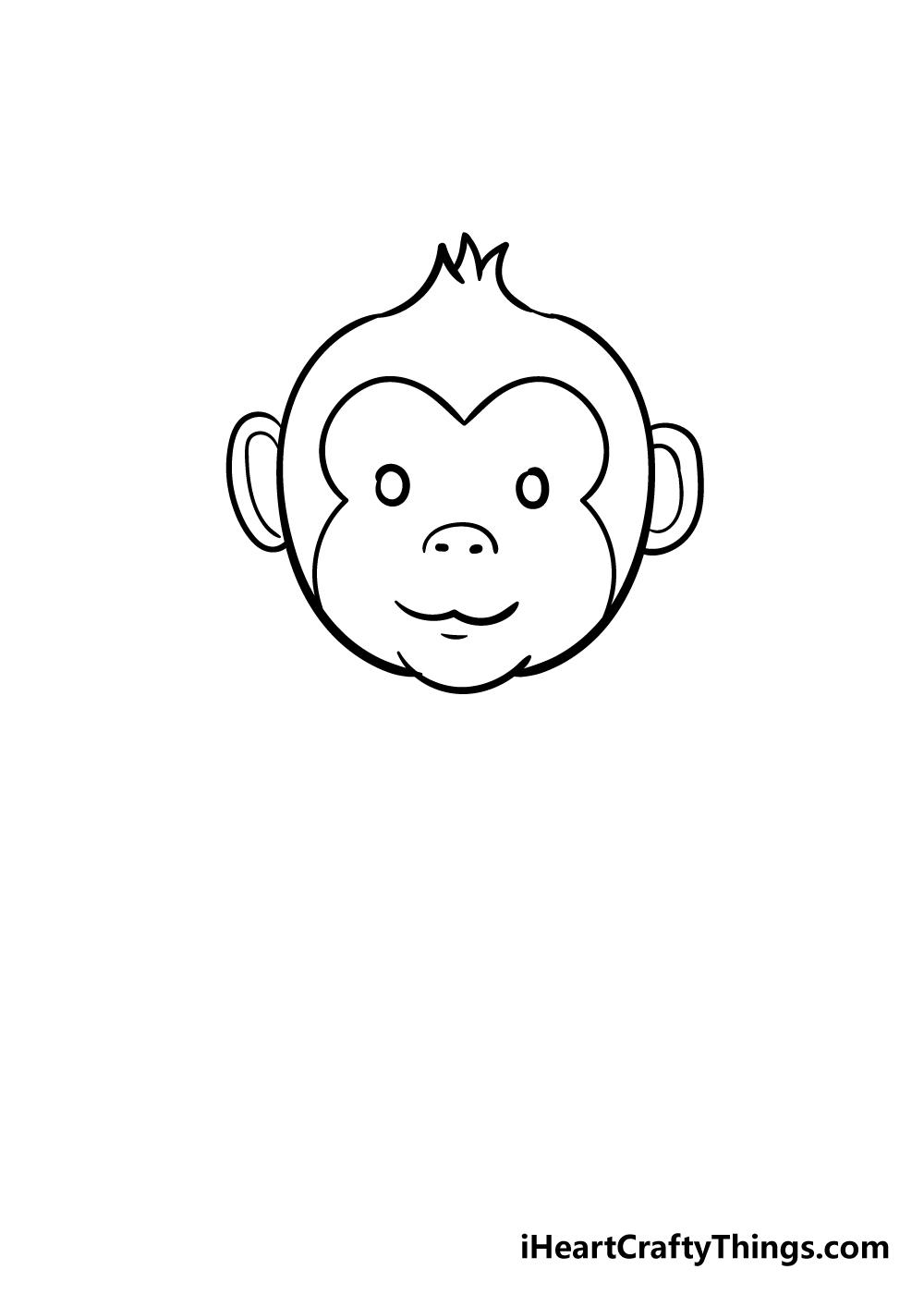 monkey drawing step 5