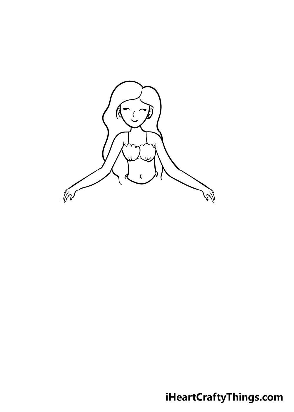 mermaid drawing step 5