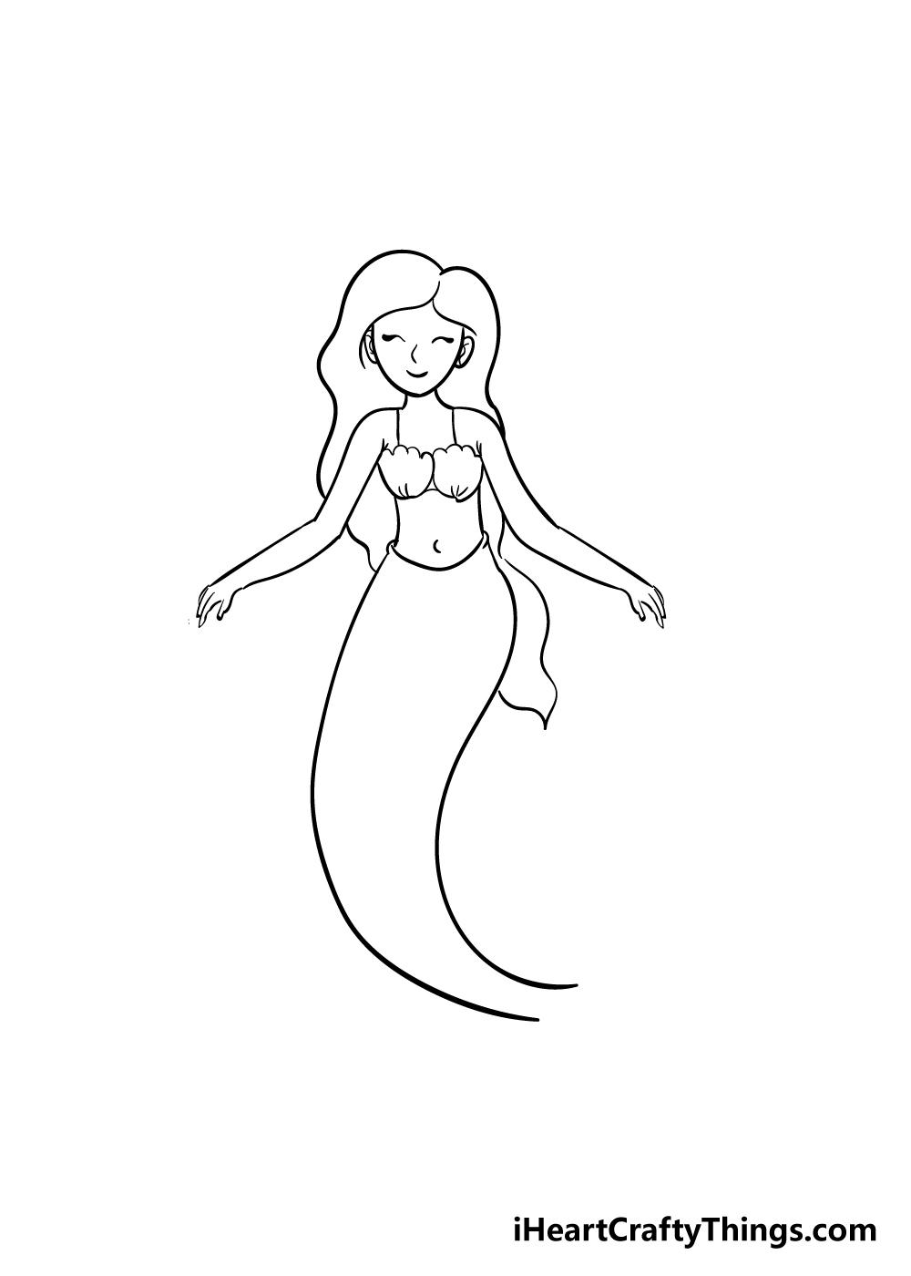 mermaid drawing step 6