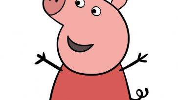 how to draw peppa pig image