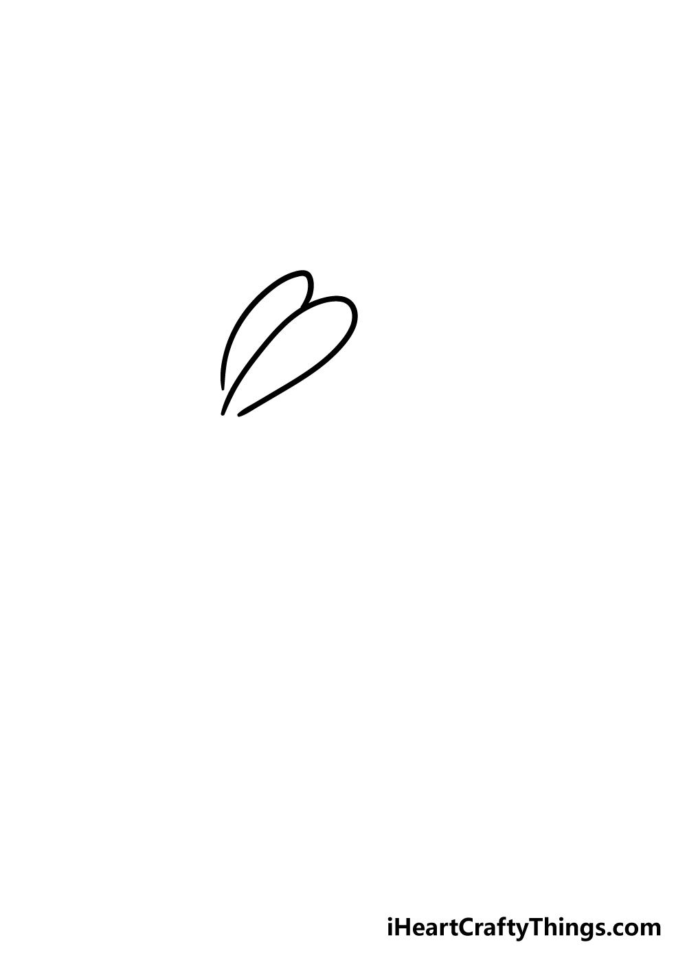 rabbit drawing step 2