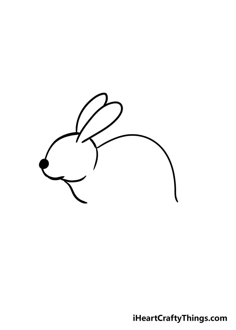 rabbit drawing step 4