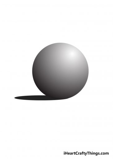 how to draw sphere image