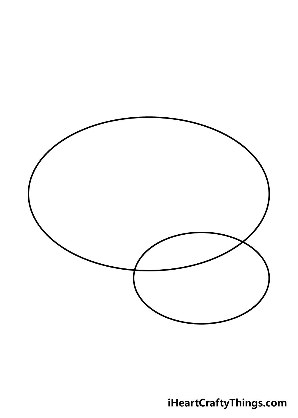 brain drawing step 1