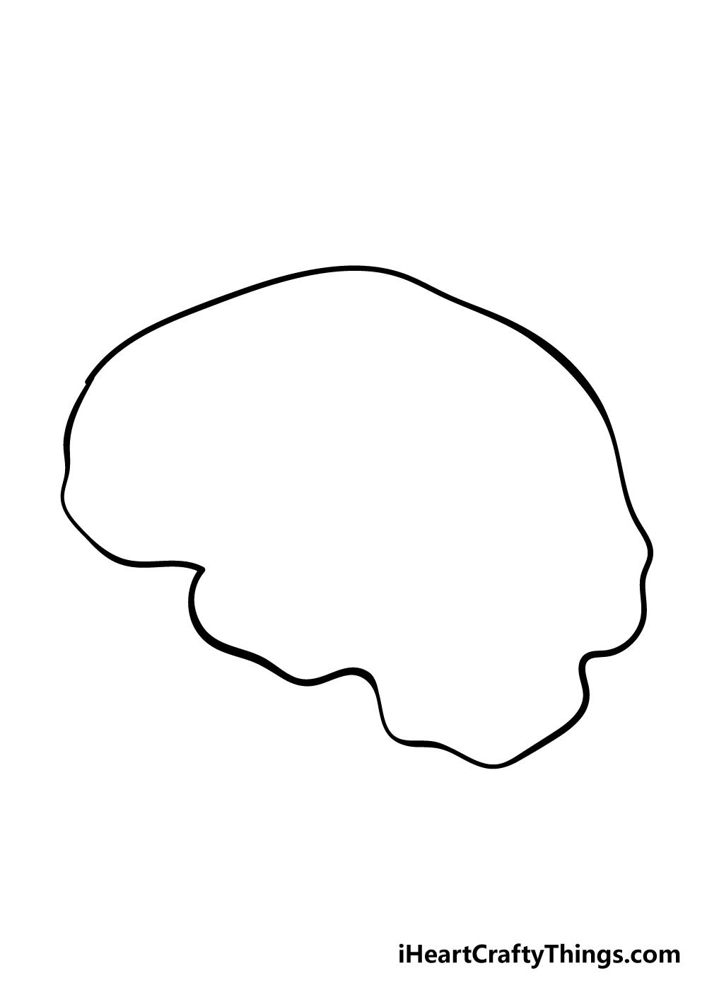 brain drawing step 2