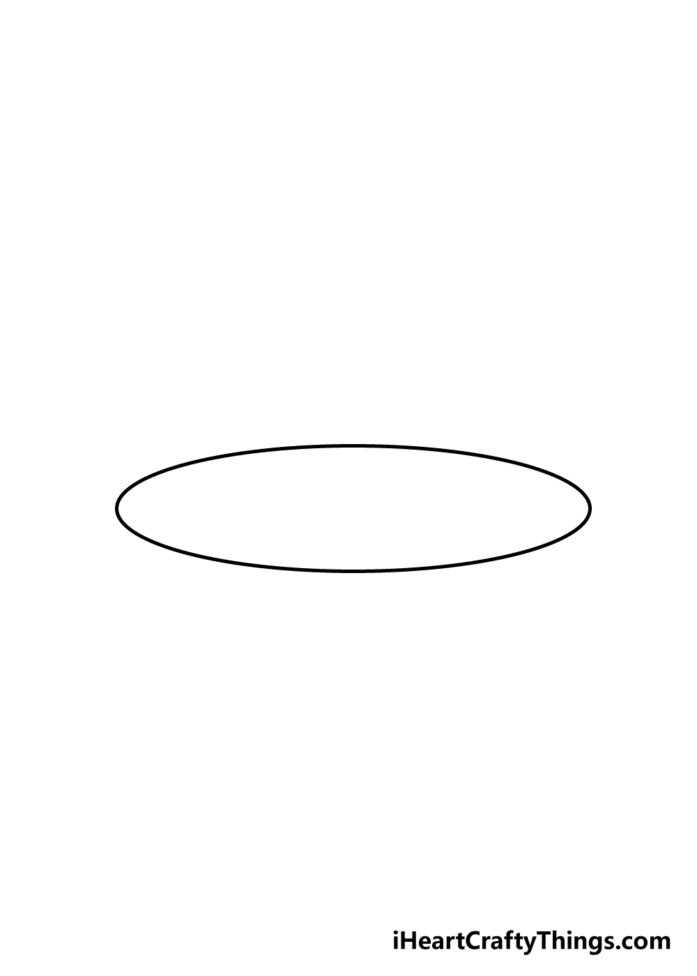 cake drawing step 1