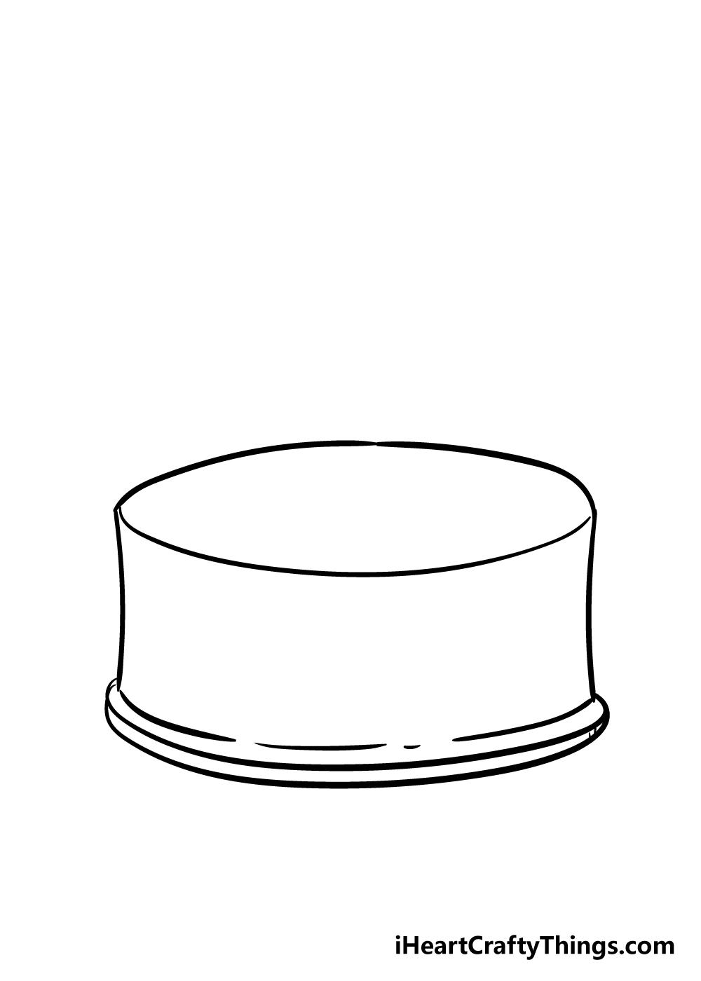 cake drawing step 3