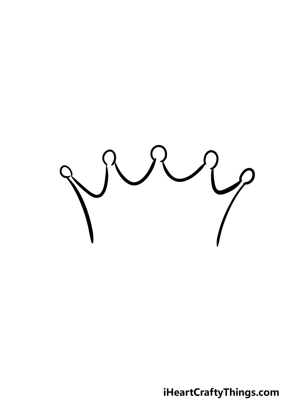 crown drawing step 2