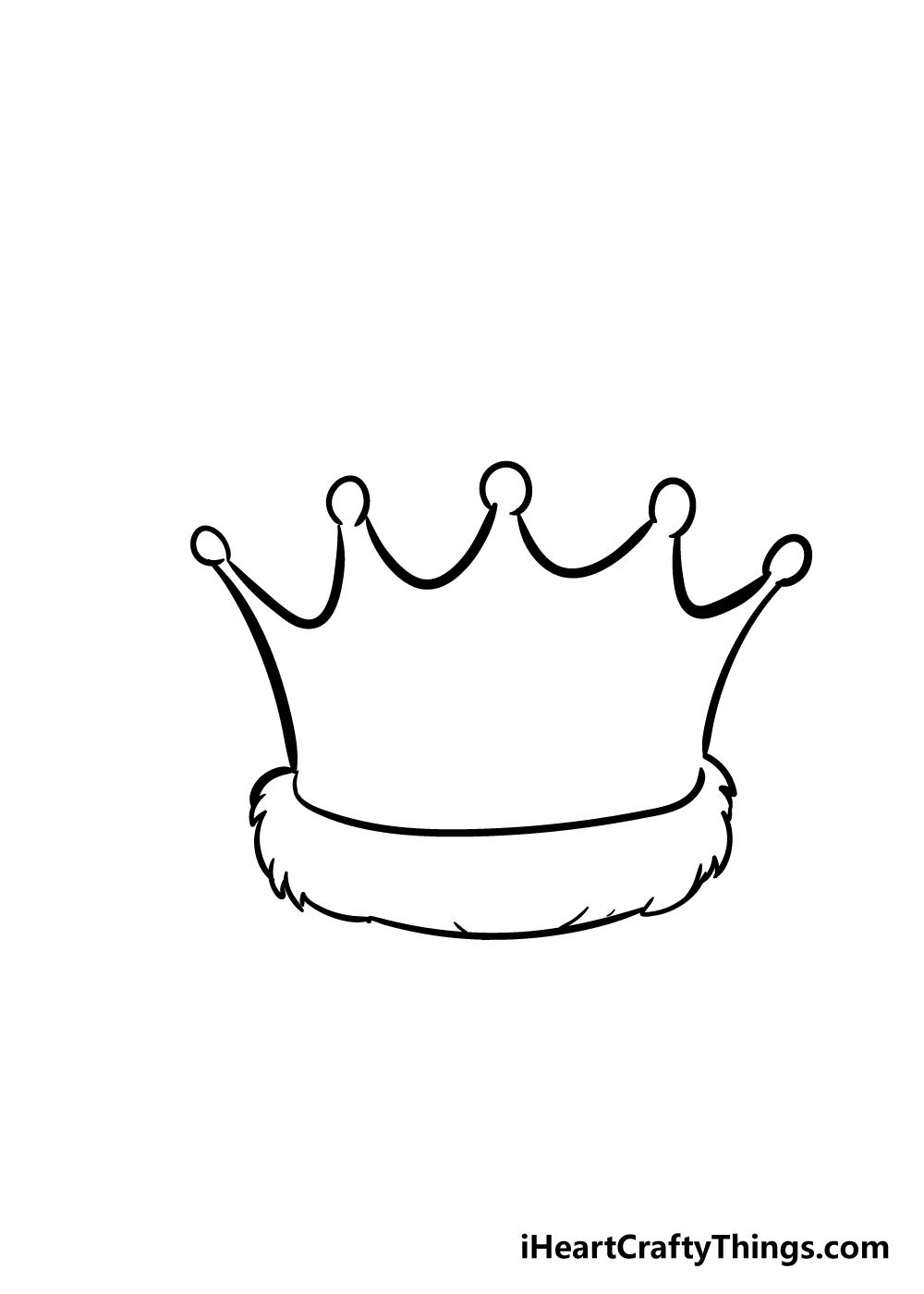 crown drawing step 3