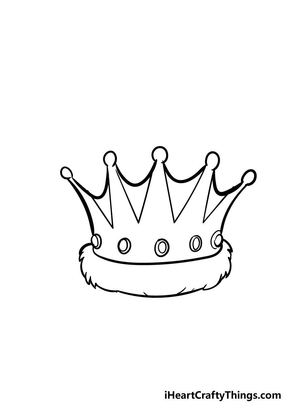 crown drawing step 5