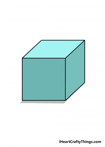 how to draw cube image