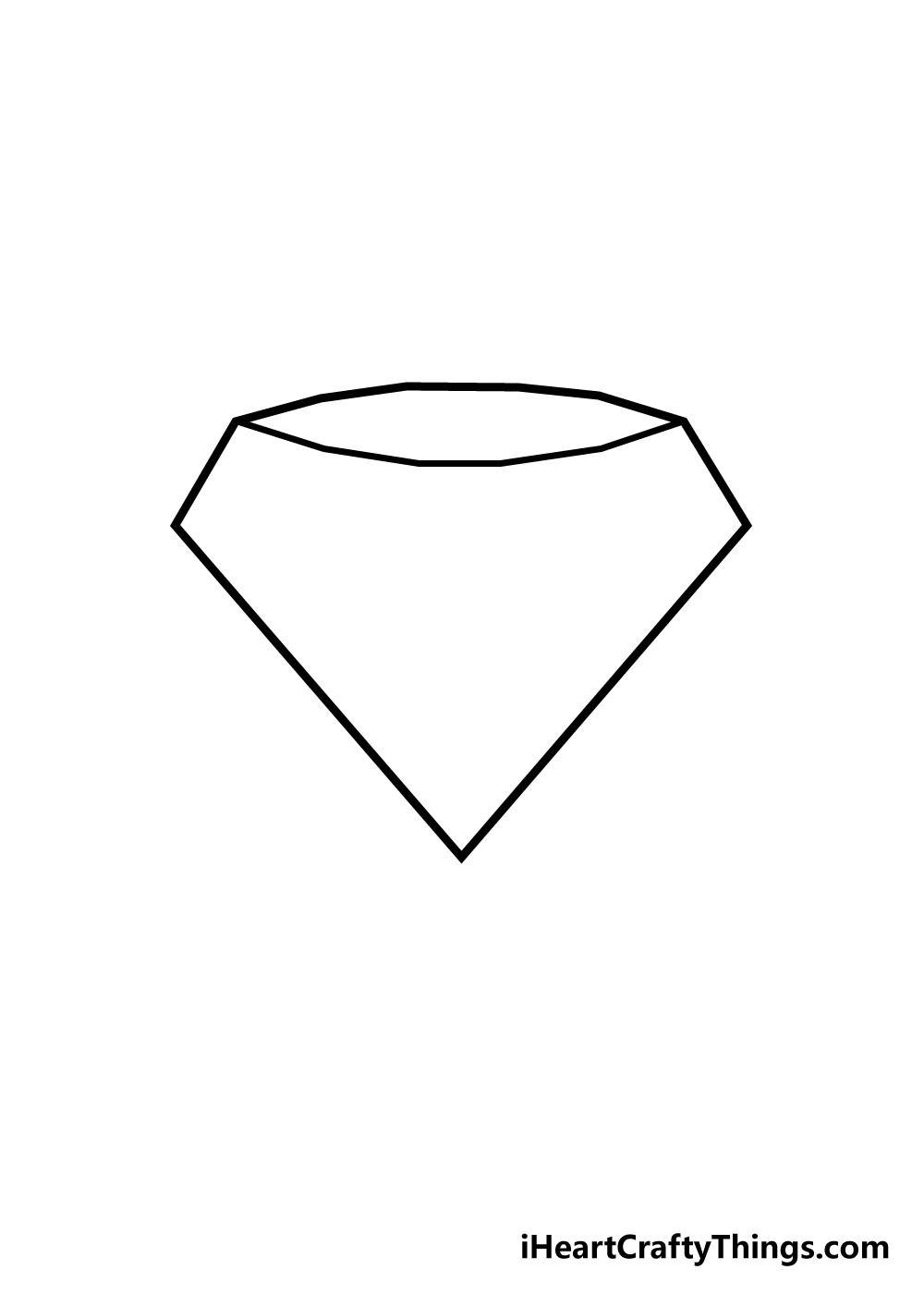 diamond drawing step 2