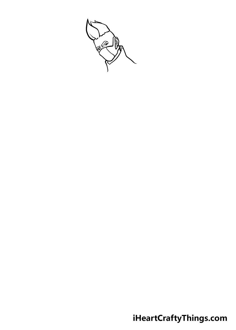 fortnite drawing step 3