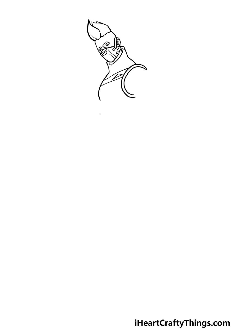 fortnite drawing step 4