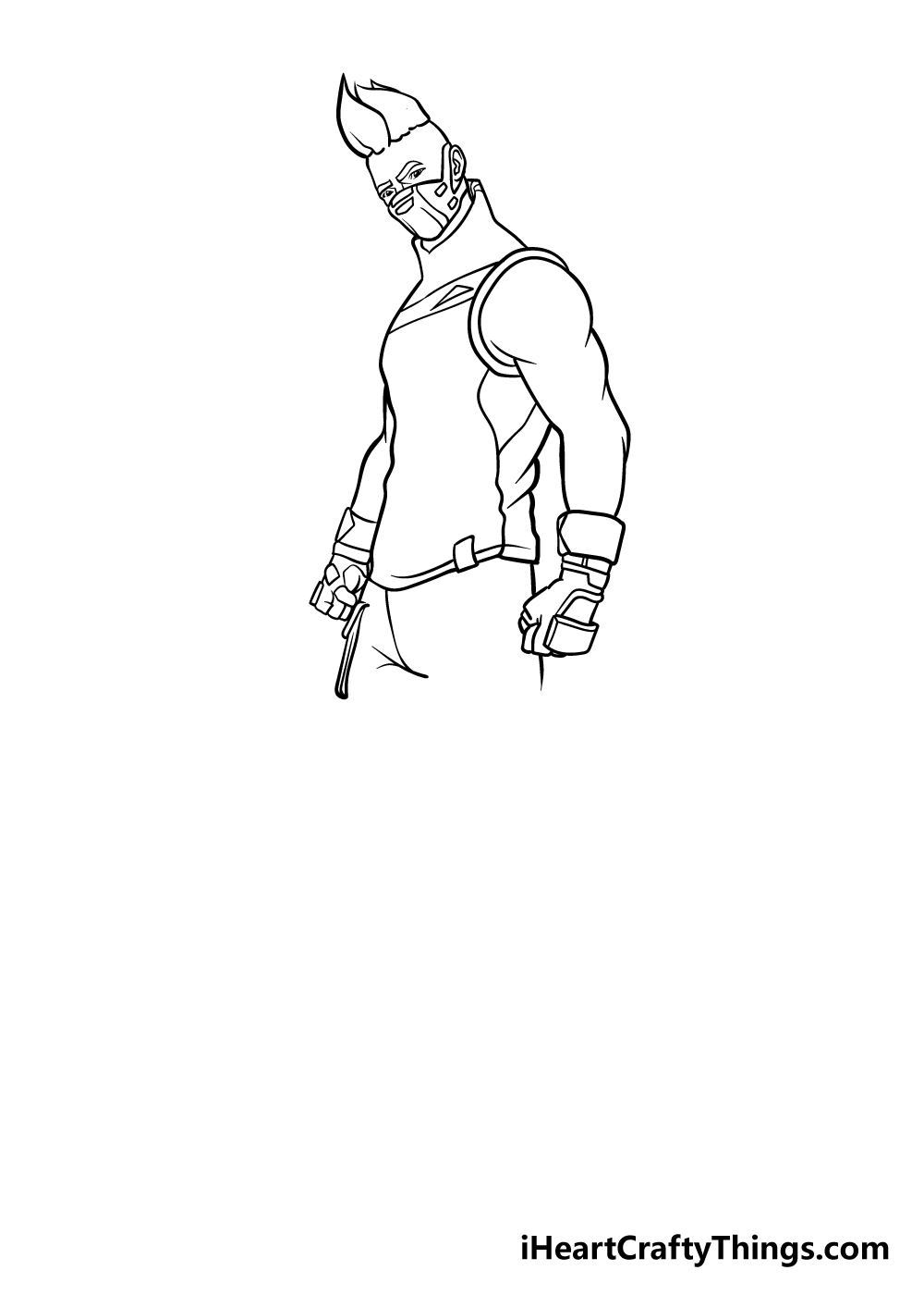 fortnite drawing step 6