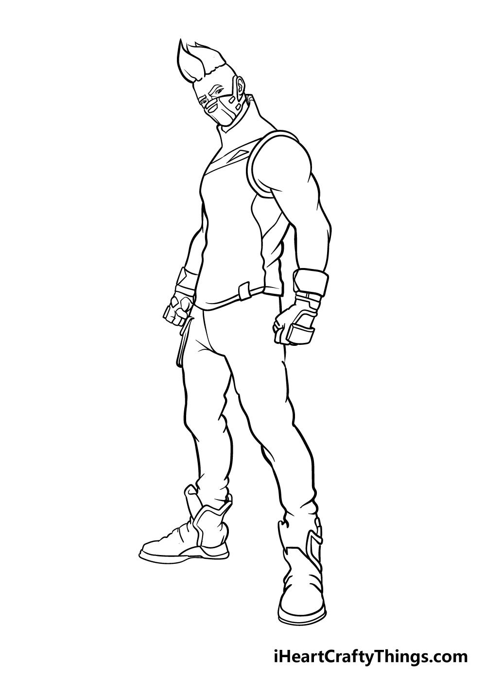 fortnite drawing step 7