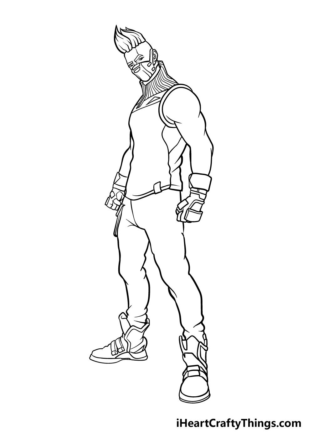 fortnite drawing step 9