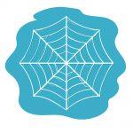 how to draw spiderweb image