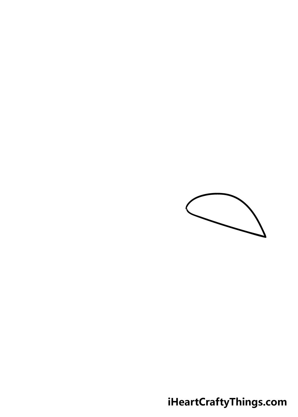 spaceship drawing step 1