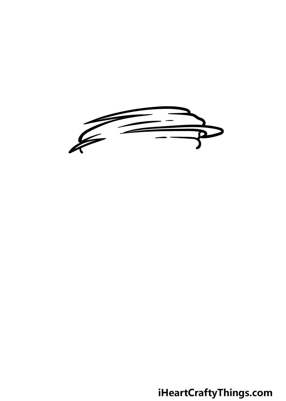drawing a tornado step 1