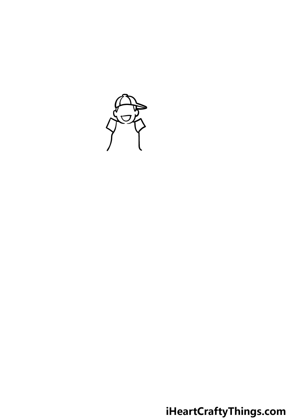 drawing a family step 1