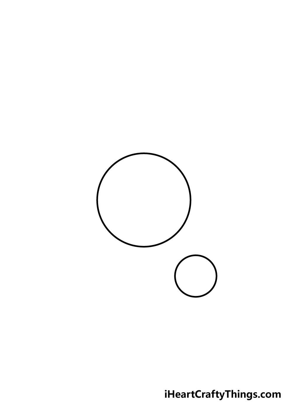 planets drawing step 1