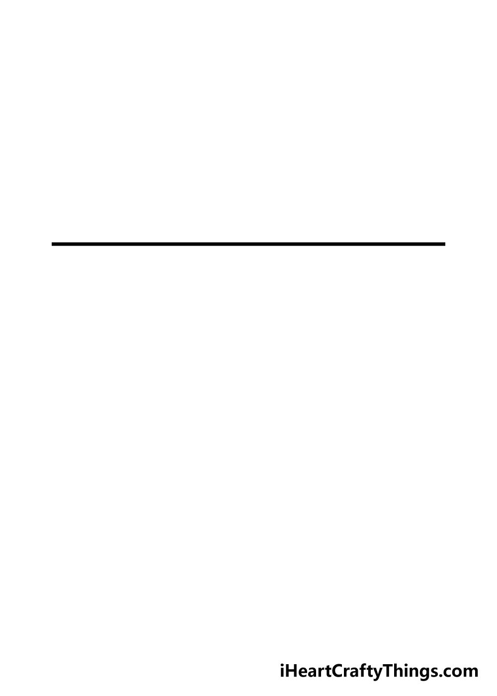 drawing american flag step 1