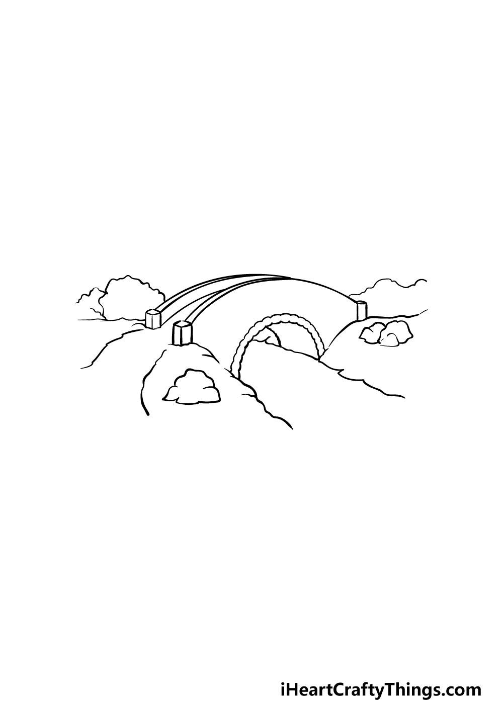 bridge drawing step 1