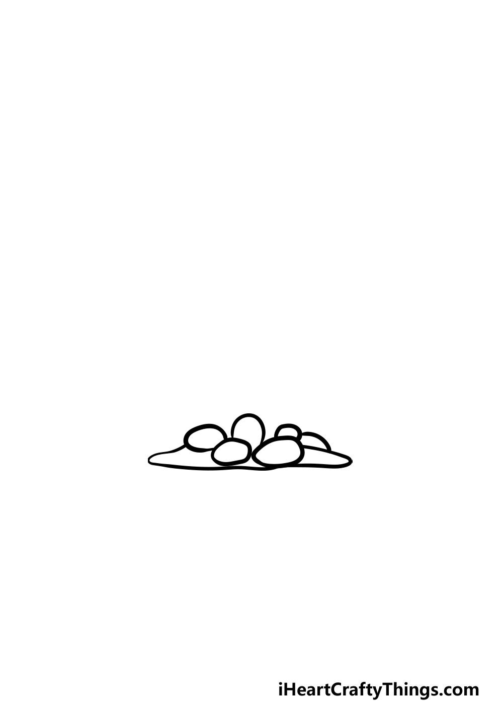 dibujando un coral paso 1