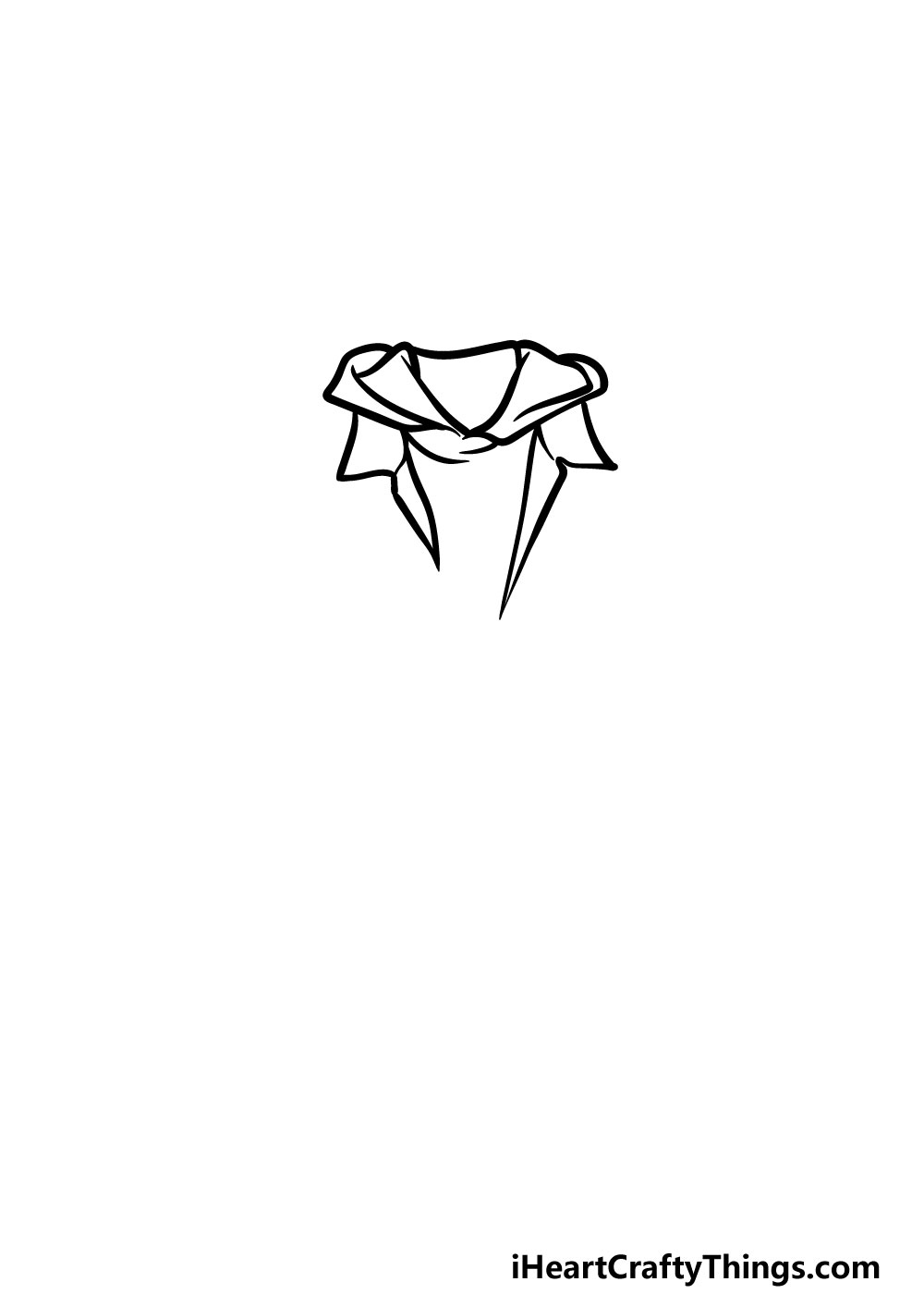 drawing a jacket step 1