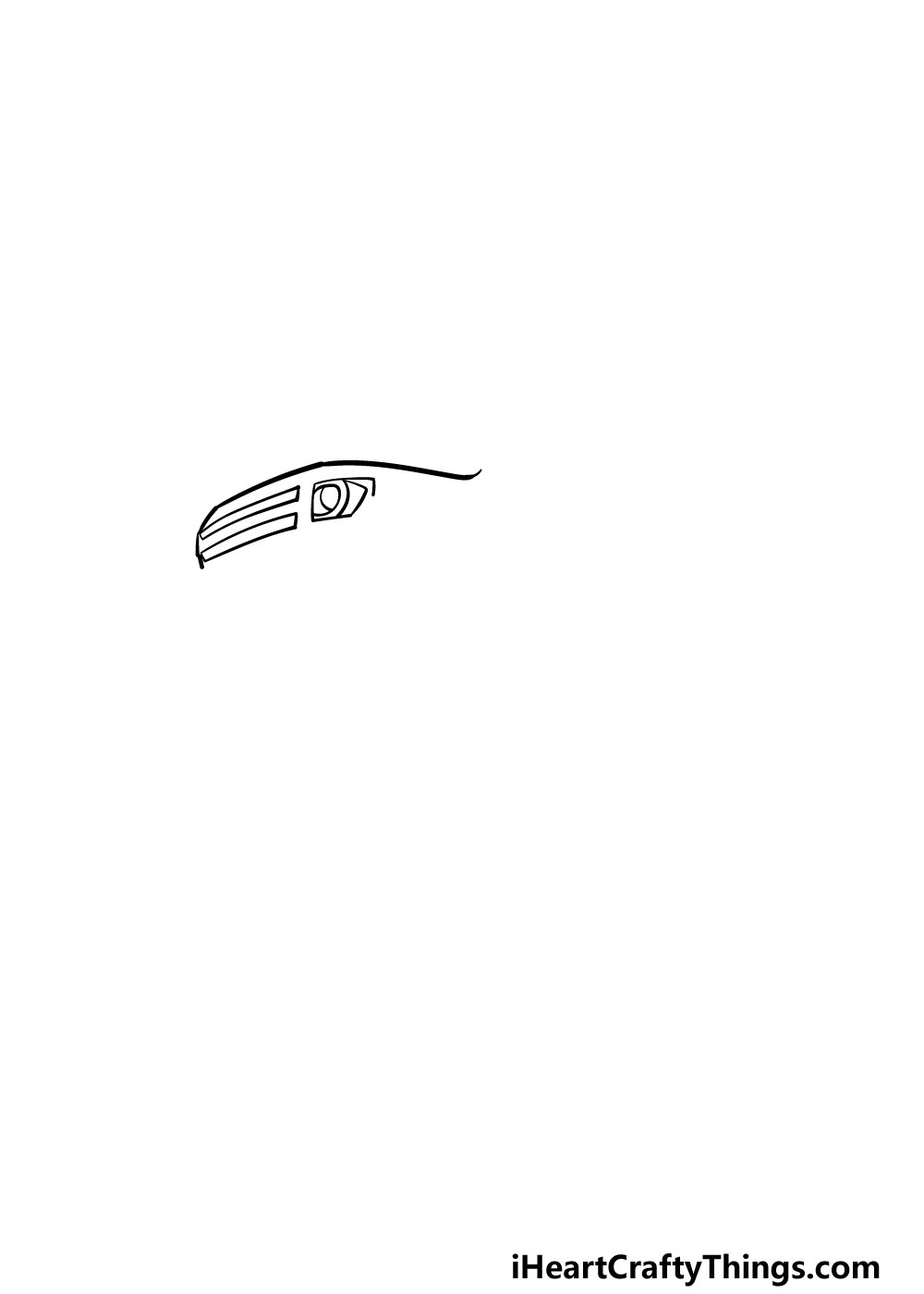 drawing a monster truck step 1